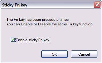 Sticky Fn key